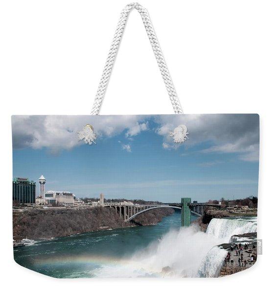 Niagara Falls New York Weekender Tote Bag