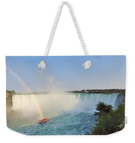 Niagara Rainbow Weekender Tote Bag