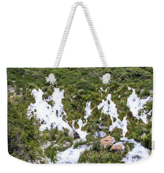 Niagra Springs Idaho Journey Landscape Photography By Kaylyn Franks  Weekender Tote Bag