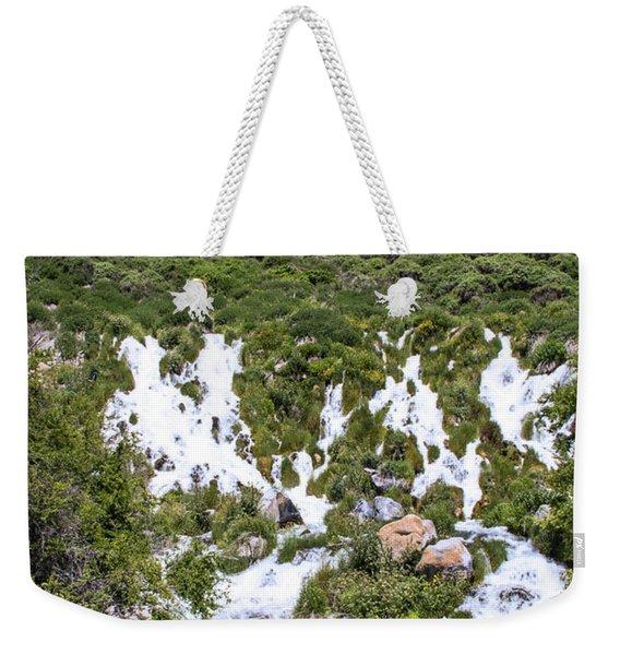 Niagra Springs Idaho Journey Landscape Photography By Kaylyn Franks  Weekender Tote Bag