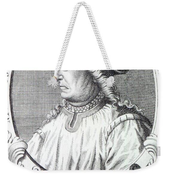 Niccolo Machiavelli Weekender Tote Bag