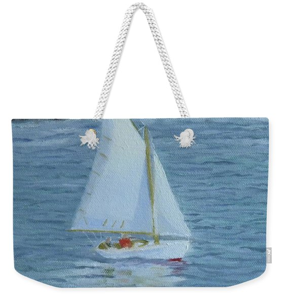 Nice Day For A Sail Weekender Tote Bag