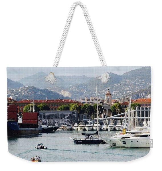 Nice Harbour Life Weekender Tote Bag