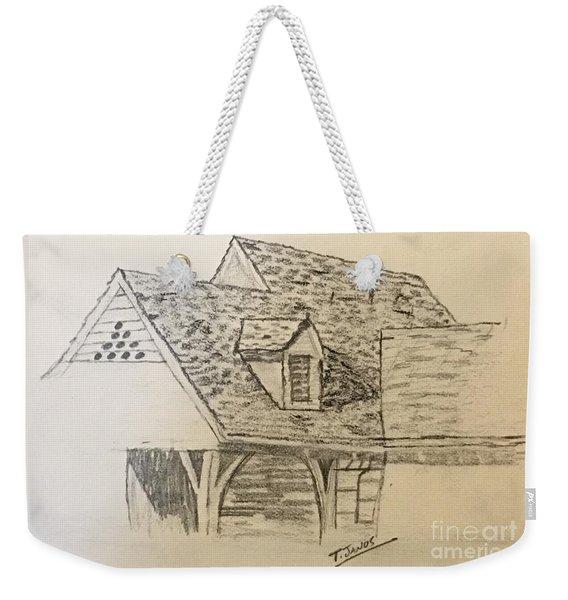 Nice Lines Weekender Tote Bag