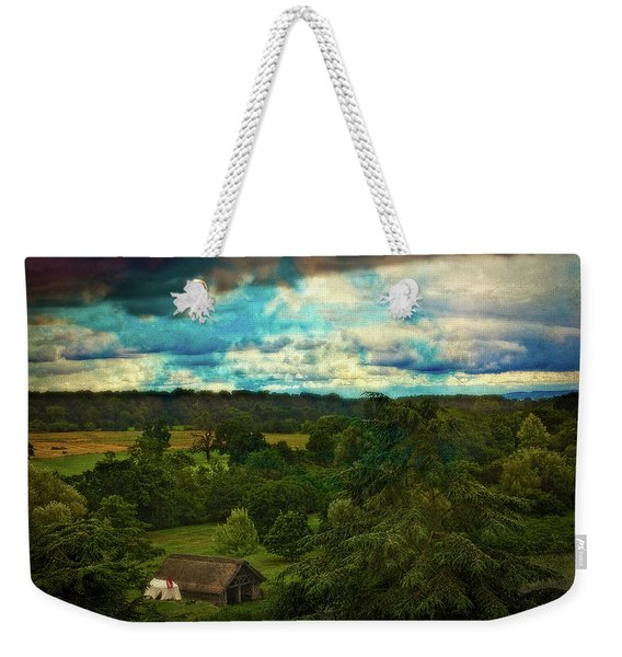 Nice Weather For Trolls In The Shire Today Weekender Tote Bag