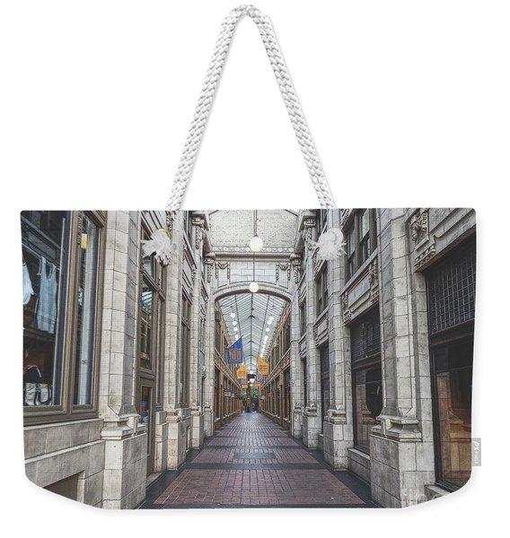 Nickels Arcade Weekender Tote Bag
