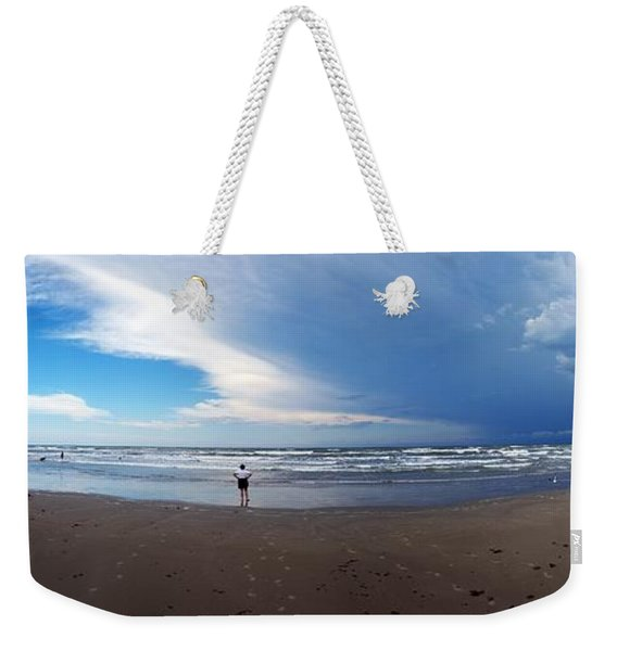 Nicki At Port Aransas Weekender Tote Bag