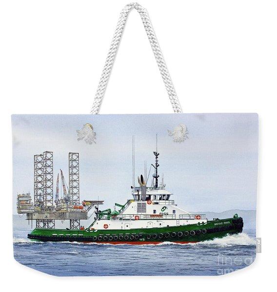 Tugboat Nicole Foss Weekender Tote Bag