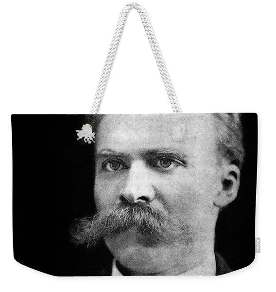 Nietzsche Weekender Tote Bag
