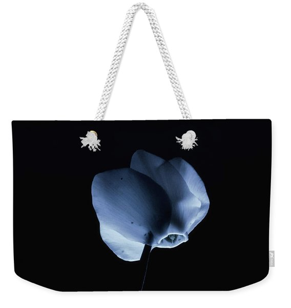 Night And A Blue Light Weekender Tote Bag