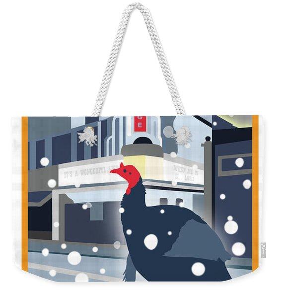 Night At The Movies Weekender Tote Bag