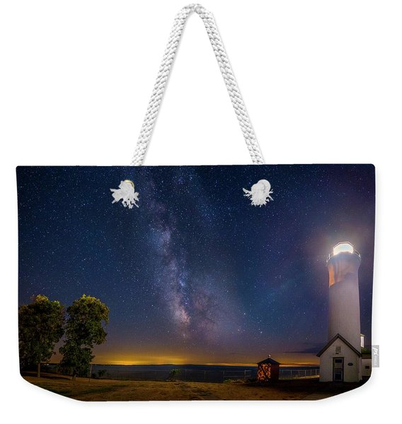 Night At Tibbetts Point Weekender Tote Bag