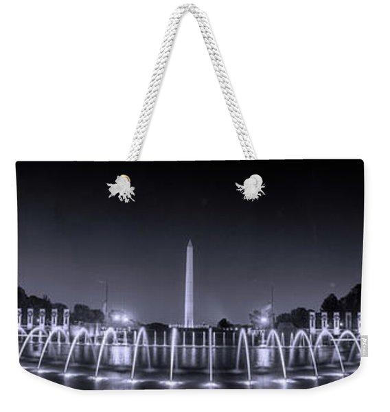 Night At Washington Dc Weekender Tote Bag