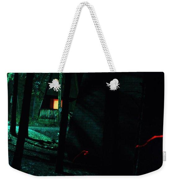 Traveling Aura Weekender Tote Bag