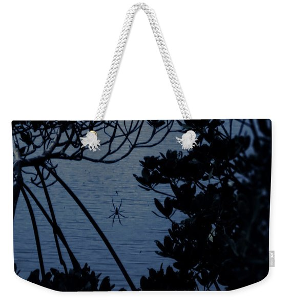 Night Banana Spider Weekender Tote Bag