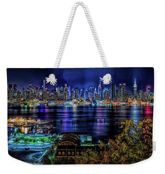 Night Beauty Weekender Tote Bag