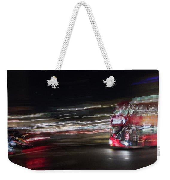 Night Chase Weekender Tote Bag
