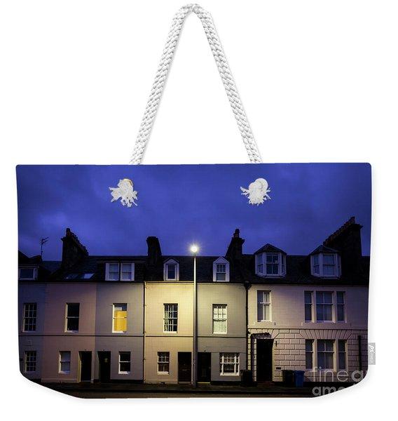 Night Darkens The Street Weekender Tote Bag