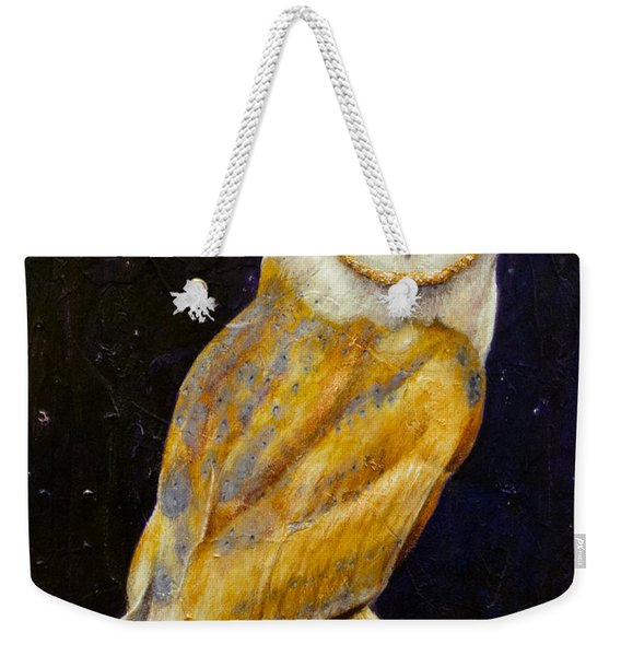 Night Eyes Weekender Tote Bag