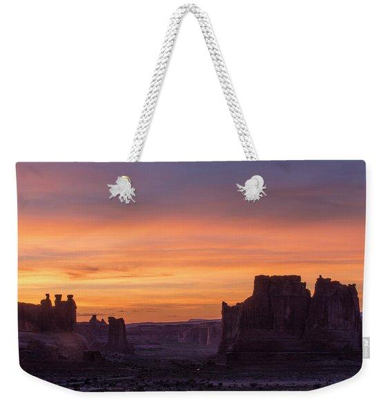 Night Falls Gently Weekender Tote Bag