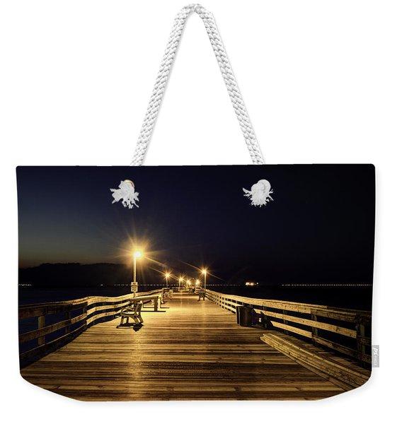 Night Fishin' Weekender Tote Bag