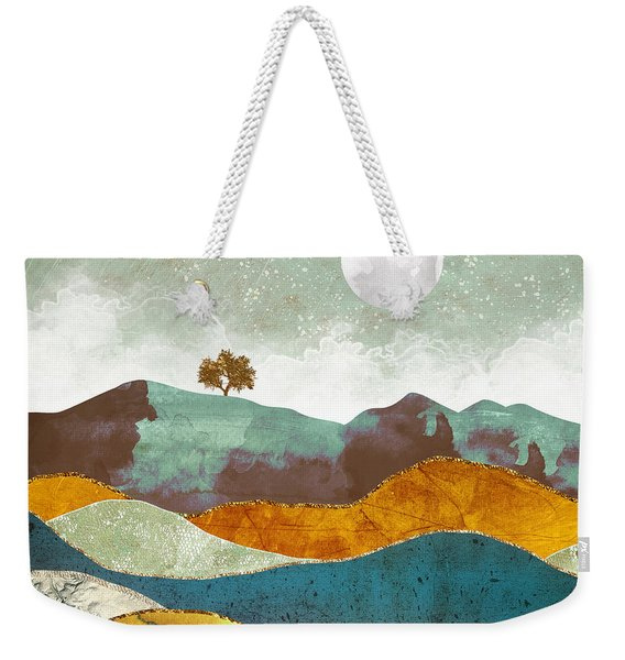 Night Fog Weekender Tote Bag