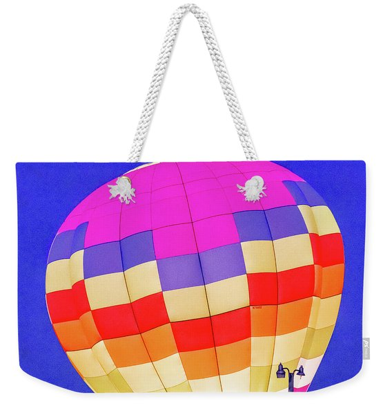 Night Glow At The Hot Air Balloon Festival Weekender Tote Bag
