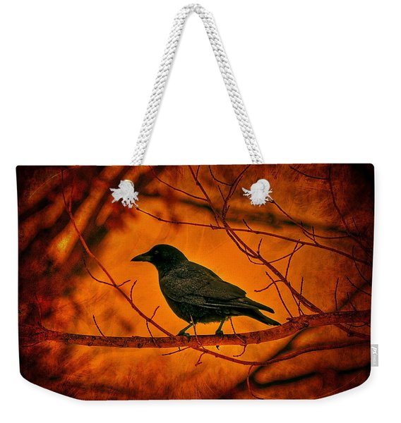 Night Guard Weekender Tote Bag