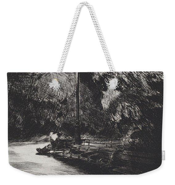 Night In The Park Weekender Tote Bag