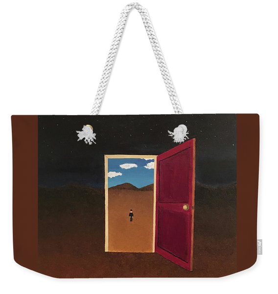 Night Into Day Weekender Tote Bag