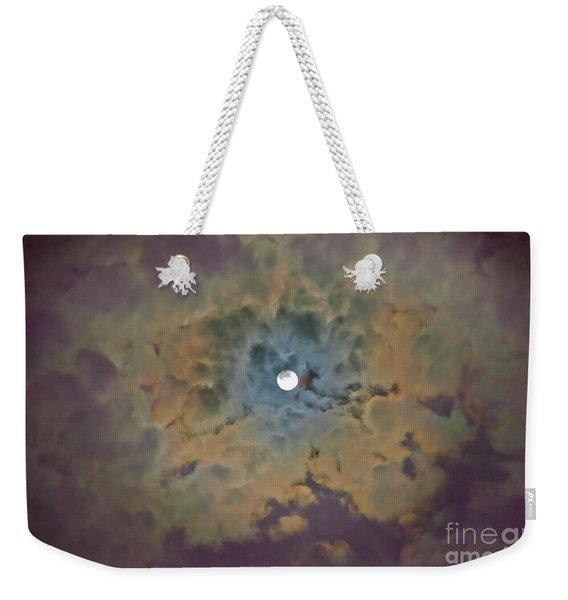 Night Moon Weekender Tote Bag