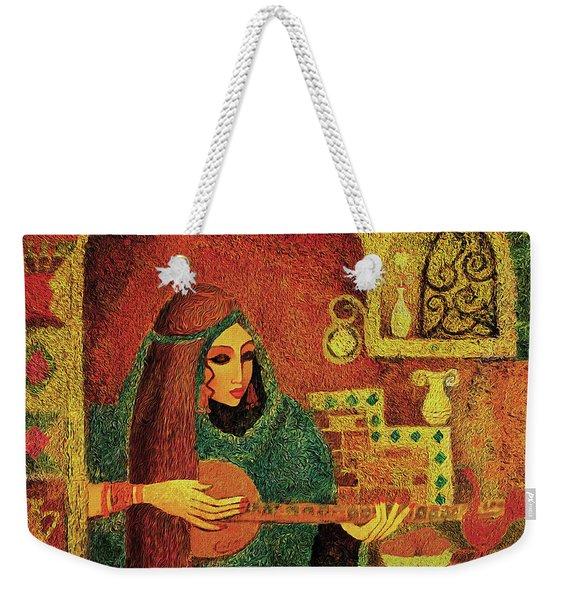 Night Music 3 Weekender Tote Bag