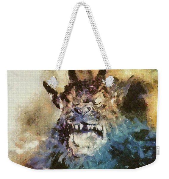 Night Of The Demon, Vintage Horror Weekender Tote Bag