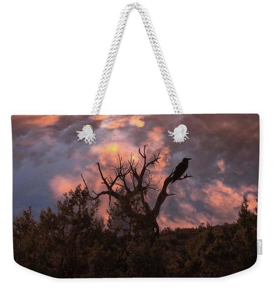 Night Of The Raven Weekender Tote Bag