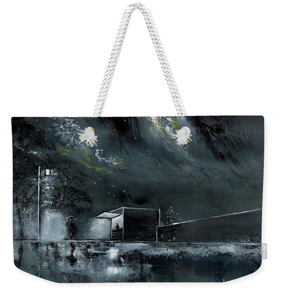Night Out Weekender Tote Bag