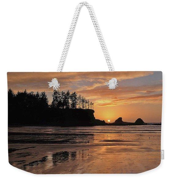 Night Pastel Weekender Tote Bag