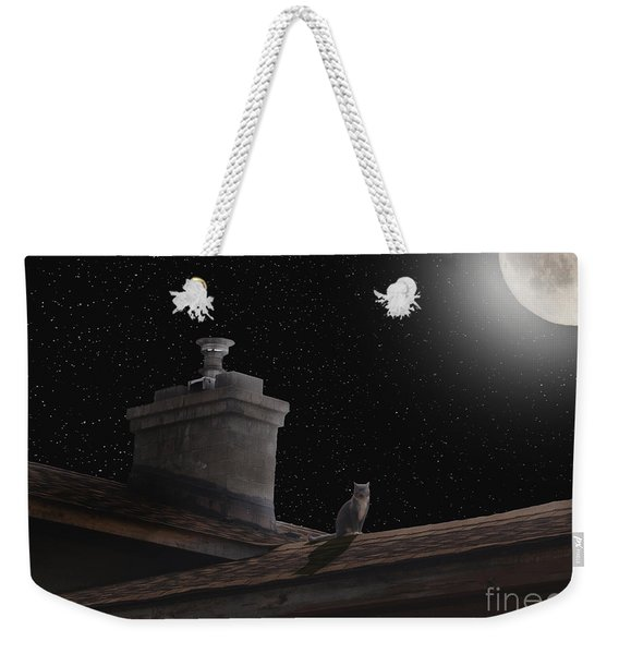 Night Prowler Weekender Tote Bag