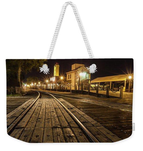 Night Rails Weekender Tote Bag