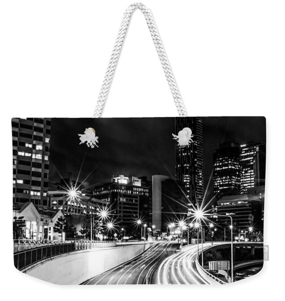 Night Time In The City  Weekender Tote Bag