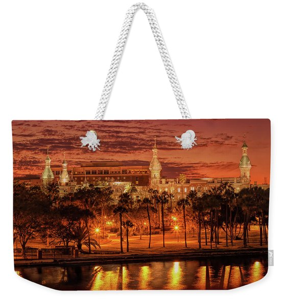 Nightfall In Tampa Weekender Tote Bag
