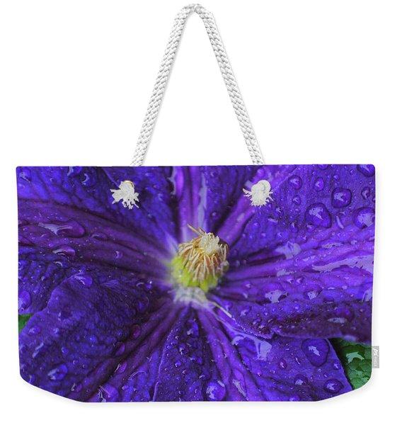 Nightflower Two Weekender Tote Bag