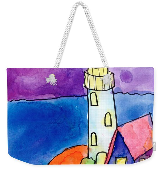 Nighthouse Weekender Tote Bag