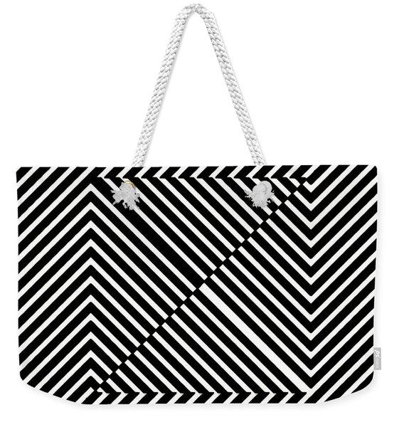 Nightlife Illusions Weekender Tote Bag