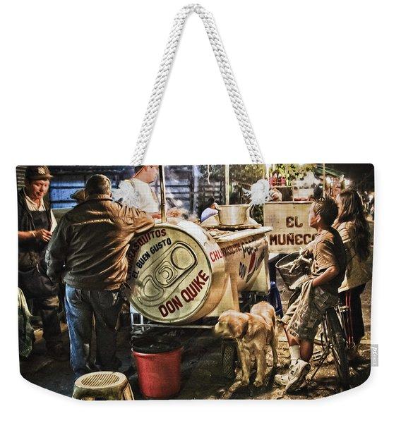 Nightlife In Guatemala Weekender Tote Bag