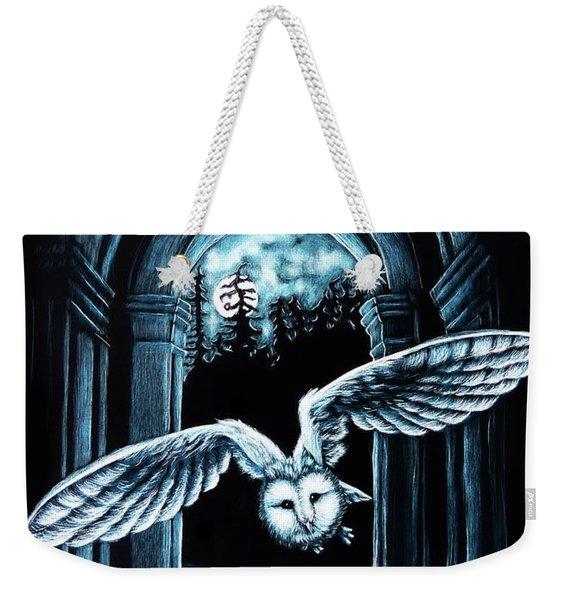 Nightly Passage Weekender Tote Bag