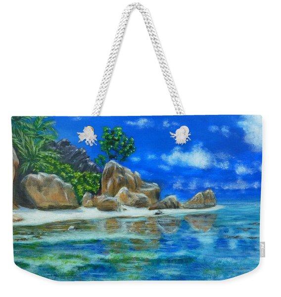 Nina's Beach Weekender Tote Bag
