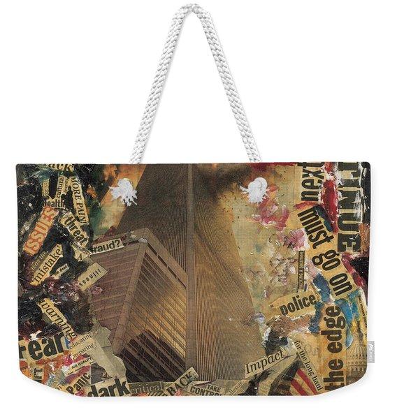 Nine Eleven Weekender Tote Bag