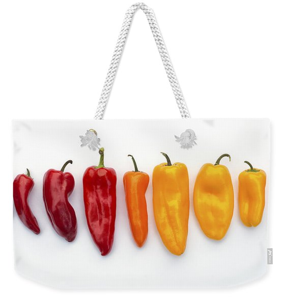 Nine Peppers Weekender Tote Bag