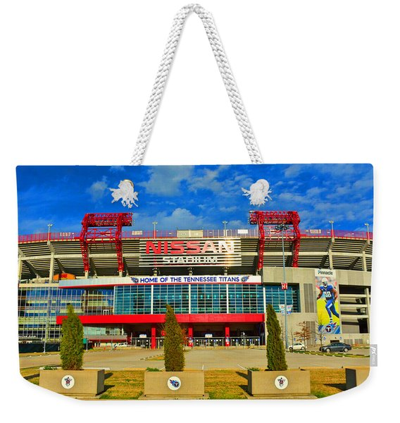 Nissan Stadium Home Of The Tennessee Titans Weekender Tote Bag