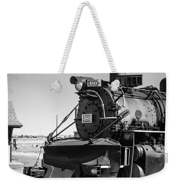 No. 489 Engine Weekender Tote Bag